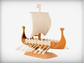 著名北欧探险家的航船